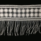 China White Swiss Polish Guipure Torchon Crochet Embroidery 100% Cotton Lace Trim For Evening Dresses on sale