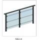 China Aluminum staircase glass railing -padlg18 on sale