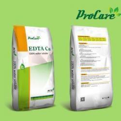 China Procare High Efficiency Fertilizer EDTA-Mg/Ca/Zn/Cu/Mn Micronutrient Element Edta Ca 10% Chelated Ed on sale