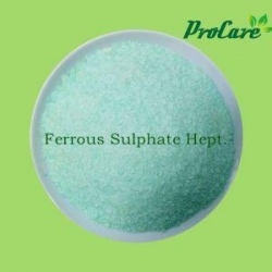 China Procare Aricultural Grade High Quality Ferrous Sulfate Micronutrients Fertilizer on sale