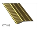 China CK Specialized Profiles for Carpets and Ceramic Tiles Num: DT102 on sale