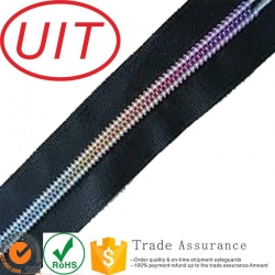 China rainbow teeth nylon zippe Product ID:5#7# on sale