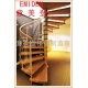 China Household spiral staircase on sale
