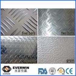 China Aluminium Check Plate Embossed Aluminum Sheet Low Price on sale