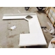 China White Quartz Worktops, Engineered Surfaces, Quartzite Table, Counter Tops on sale