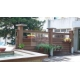 China china Eco-Friendly Wood Plastic Composite Garden Fenceand Railing on sale