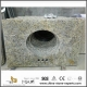 DIY Discount Wholesale Brazil Gold Granite Bathroom Vanity Tops with Cheap Prices