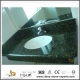 Discount Butterfly Green Granite Bathroom Vanity Tops with Sinks for Cheap Cost