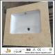 Top Grade Natural Galala Beige Marble Stone Vanities for Bathroom