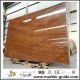 Red Wood Marble Stone Slab For Hotel Bathroom Flooring Tile