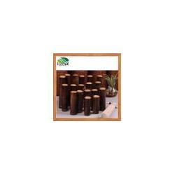 China Bamboo Tea Storage Tube Mini Tea Canister Portable Travel Tea Storage on sale