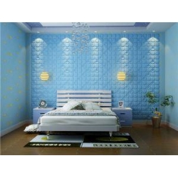 China Manufactured Hotel Emboosed 3d Art Wallpaper Home Decoration on sale