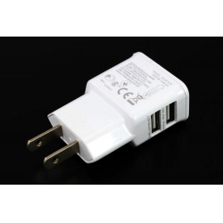 China Dual Micro USB 2.0 Charger for Android Phones and iphones on sale