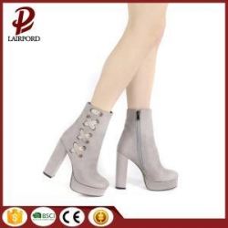 China 11cm Ladies platform High Heels PU Bootie on sale