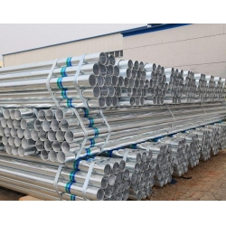 China Steel Pipe Home BS1387 ERW galvanized steel pipe on sale