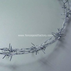 China 14 Gauge Galvanized Barbed Wire on sale