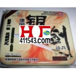 China Capsules Germany Silver Sword Male Enhancement Pills on sale