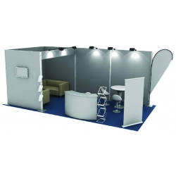 China Popular portable outdoor tension fabric trade show booth/exhibition booth display for sale on sale