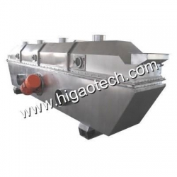 China Vibrating Continuous Vibration Fluid Bed Dryer For Pharma... Fluidizing Dryer on sale