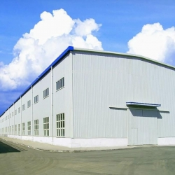 China Metal Frame Construction Design Prefab Steel Structure Factory Workshop Buildings on sale