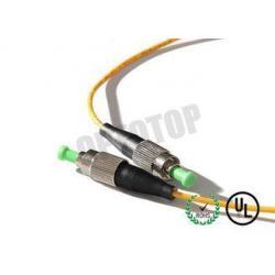 China FC / APC Fiber Optic Patch Cord Single Mode 1F 2mm Simplex Type on sale
