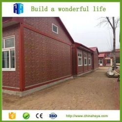 China Student accommodation shipping container school cottage house plans on sale