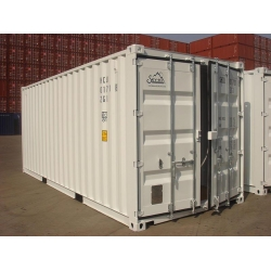 China 20ft standard dry shipping container on sale