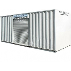 China 20 FOOT STORAGE AND SHIPPING CONTAINER WITH 1 ROLL-UP DOOR on sale