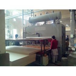 China Short cycle melamine paper laminating machine on sale