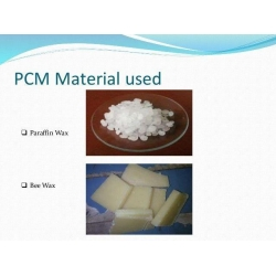 China Paraffin Wax PCM Phase Change Material PCM In Energy Storage System on sale