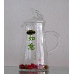China Ru Yi Hu Glass Tea Pot Produce code: GTP01 Product specification:480ml on sale