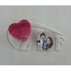 China Coloring Cardboard Heart Shaped Paper Jewelry Gift Boxes Design on sale