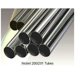 China UNS NO2200 NO2201 corrosion resistant Nickel Alloy Inconel Pipe tubing on sale