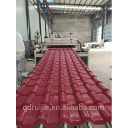 China PVC Corrugated Roof Sheet/Roof Tile Extrusion Making Machine on sale