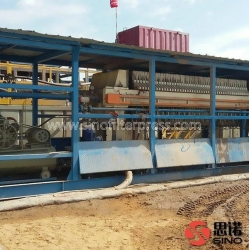 China Truck Mounted Filter Press on sale