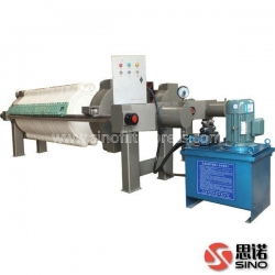 China Cotton Cake Filter Press on sale