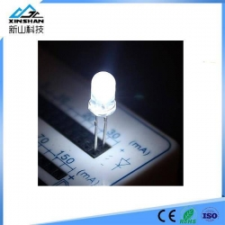 China 5mm White Light Emitting Diode LED Lamps on sale