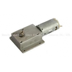 China 12-24V Totally Enclosed DC Motor Gearbox Closed Type 36mm Diameter on sale