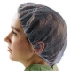 Disposable Food Preparation Hair Nets , Cleanroom Disposable Hair Nets Food Service