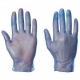 A Grade Disposable Vinly PVC Gloves Powder Free Proved By CE And FDA