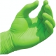 Non Sterile Nitrile Gloves, Green Nitrile Exam GlovesChemical Resistance