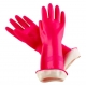 Reusable Household Hand Protection Gloves Flock Lined Latex Gloves For Clearning