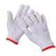 7 / 10 Gauge Safety White Hand Protection Gloves For Industrial Use 22-27cm Length