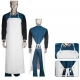 PVC Butcher Style Protective Clothing Aprons Reusable Oil Resistant Waterproof