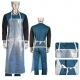 Heavy Duty Transparent Protective Clothing Aprons 0.3mm / Customized Thickness