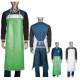 Food Industry PVC Coated Protective Clothing Aprons PVC Coated For Both Sides