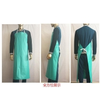 Eco - Friendly Protective Clothing Aprons PVC Film Anti - Oil Acid Wear Resistant