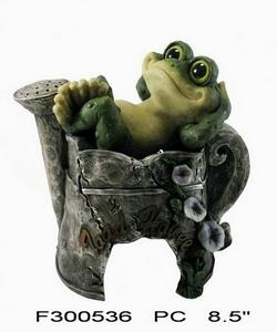 China resin frog toad house on sale