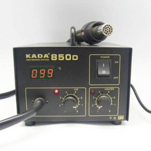 China Hot air gun series Product Name :KADA-850D Hot Air GunOrder No:NO.A305Product Class:Hot air gun series on sale