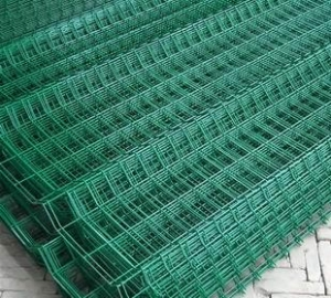 China Welded Wire Mesh PVC Coated Welded Mesh Panels on sale